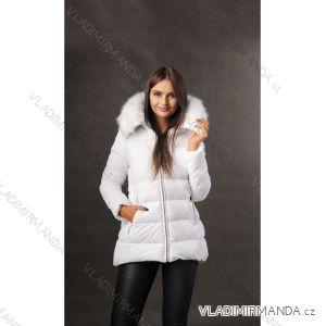 Bunda zimní s kožíškem dámská prošívaná (s-m-l-xl) MFASHION MF19M-02