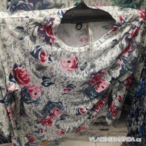 Tričko teplé dlouhý rukáv dámské (l-3xl) TOVTA SUN19028