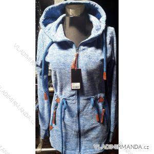 Mikina s kapucou prodloužená dámská (m-3xl) D.T.Fashion DTF19002