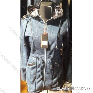 Mikina s kapucou prodloužená dámská (m-3xl) D.T.Fashion DTF19003