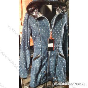Mikina s kapucou prodloužená dámská (m-3xl) D.T.Fashion DTF19005