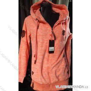 Mikina s kapucou prodloužená dámská (m-2xl) D.T.Fashion DTF19006