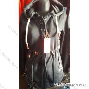 Mikina s kapucou prodloužená dámská (m-3xl) D.T.Fashion DTF19009