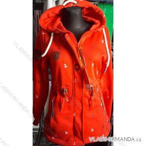 Mikina s kapucou prodloužená dámská (m-3xl) D.T.Fashion DTF19011