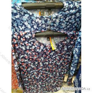 Tričko/tunika dlouhý rukáv dámské (l-3xl) TOVTA SUN19032