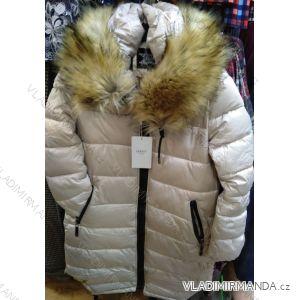 Bunda zimní s kapucí a kožíškem dámská (S-2XL) GAROFF PM2191975-K