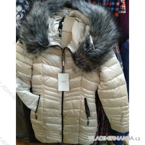 Bunda zimní s kapucí a kožíškem dámská (S-2XL) GAROFF PM2191966