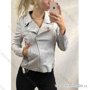 Bunda broušená koženka dámská (s-l) HF Woman collection IM9191759