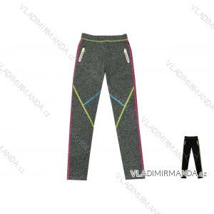 Legíny dlouhé slabé fitness sportovní dětské dorost dívčí (134-164) KUGO K790/D