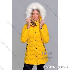 Kabát zimní s kožíškem dámský (S-2XL) METROFIVE MET19010