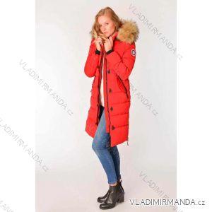 Kabát zimní s kožíškem dámský (S-2XL) METROFIVE MET19011