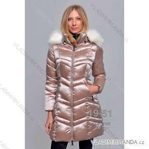 Kabát zimní s kožíškem dámský (S-2XL) METROFIVE MET19013