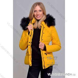 Bunda zimní s kožíškem dámská (S-2XL) METROFIVE MET19016