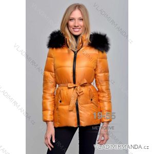 Bunda zimní s kožíškem dámská (S-2XL) METROFIVE MET19018