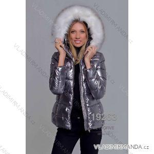 Bunda zimní s kožíškem dámská (S-2XL) METROFIVE MET19019