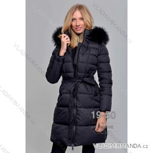 Kabát zimní s kožíškem dámský (S-2XL) METROFIVE MET19020