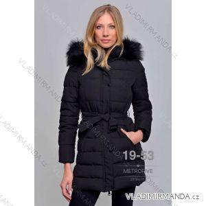 Kabát zimní s kožíškem dámský (S-2XL) METROFIVE MET19021
