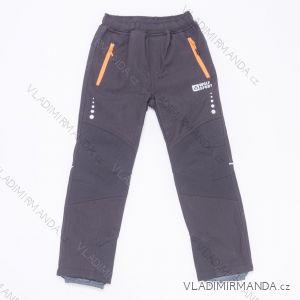 Kalhoty softshellové dorost dětské divčí a chlapecké (116-146) WOLF B2997W
