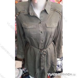 Košilové šaty dámské (s-xl) Francouzská MóDA FRA19005