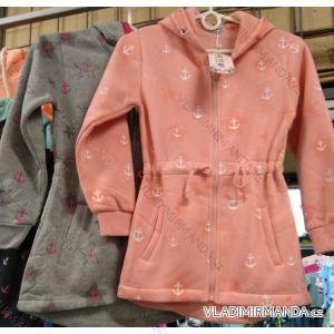 Mikina na zip s kapucí dorost dívčí (134-164) KE YI QI KEY19K-202