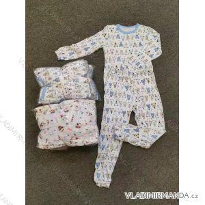 Pyžamo dlouhé dětské dívčí a chlapecké (90-120) AODA AOD19018