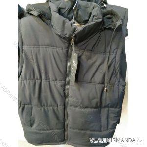 Vesta šusťáková podzimní pánská nadrozměrná (L-4XL) WANG WNG19005