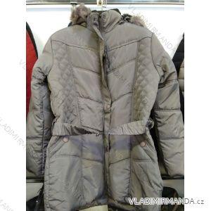 Bunda/kabát zimní prodloužená dámská nadrozměrná (L-4XL) WANG WNG191819BY