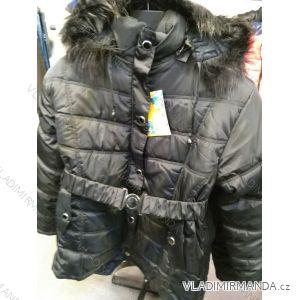 Bunda/kabát zimní prodloužená dámská nadrozměrná (XL-5XL) WANG WNG19007
