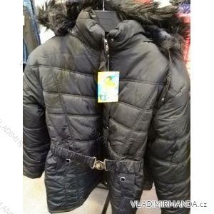 Bunda/kabát zimní prodloužená dámská nadrozměrná (XL-5XL) WANG WNG19008
