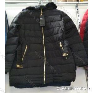 Bunda zimní dámská nadrozměrná (M-3XL) WANG WNG19011
