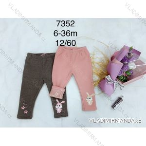 Legíny teplé dlouhé kojenecké dětské dívčí (6-36 měsíců) FAD FAD197352