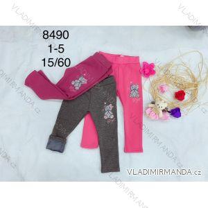 Legíny teplé dlouhé kojenecké dětské dívčí (1-5 let) FAD FAD198490