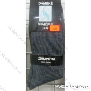 Ponožky slabé zdravotní lem bavlněné dámské (35-42) VIRGIN D-5922