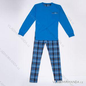 Pyžamo dlouhé bavlněné pánské (m-3xl) WOLF S2977B