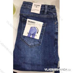 Rifle jeans push up dlouhé dámské (25-31) M.SARA MA519S2091-5