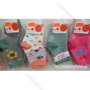 Ponožky slabé protiskluzové dětské dívčí (17-23,23-26) AMZF ZCB3-5071