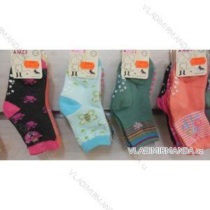 Ponožky slabé protiskluzové dětské dívčí (17-23,23-26) AMZF ZCB3-5091