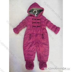 Kombinéza zimní kojenecká dívčí (56-86) LS EAST JK061G