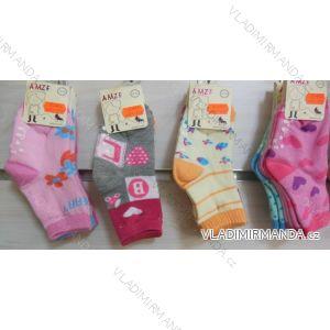 Ponožky slabé protiskluzové dětské dívčí (17-23,23-26) AMZF ZCB3-513-1