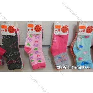 Ponožky slabé  protiskluzové dětské dívčí (17-23,23-26) AMZF ZCB3-501-1