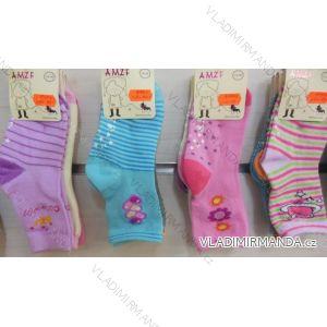 Ponožky slabé  protiskluzové dětské dívčí (17-23,23-26) AMZF ZCB3-508-1
