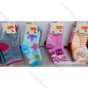 Ponožky slabé protiskluzové dětské dívčí (17-23,23-26) AMZF ZCB3-514-1