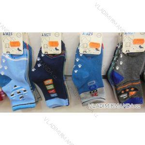 Ponožky slabé protiskluzové dětské chlapecké (17-23,23-26) AMZF ZCB3-510-1