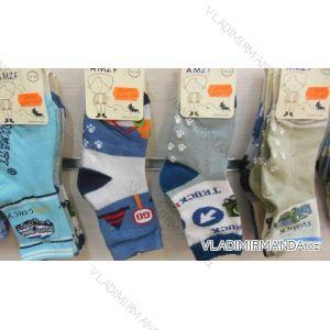 Ponožky  slabé protiskluzové dětské chlapecké (17-23,23-26) AMZF ZCA3-509-1