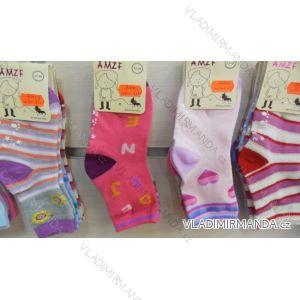 Ponožky slabé  protiskluzové dětské dívčí (17-23,23-26) AMZF ZCA3-515-1