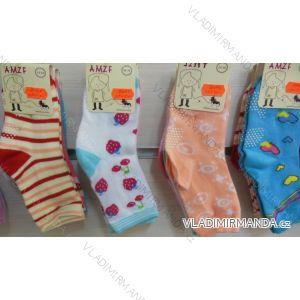 Ponožky slabé  protiskluzové dětské dívčí (17-23,23-26) AMZF ZCA3-503-1