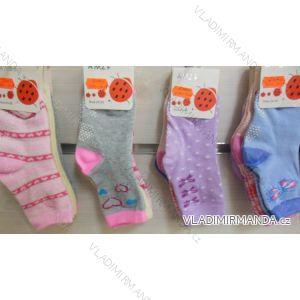 Ponožky slabé protiskluzové dětské dívčí (17-23,23-26) AMZF ZCA3-502-1