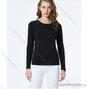 Tričko dlouhý rukáv dámské (xs-xl) GLO-STORY WCX-9823