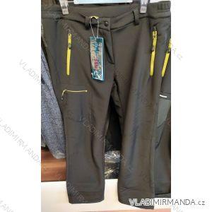 Kalhoty softshellové zateplené flaušem dámské (m-3xl) BENHAO BEN19KU002