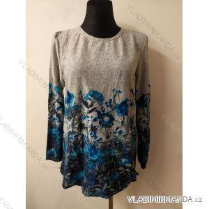 Tričko teplé dlouhý rukáv dámské (l-3xl) LINTEBOB SUN119HR-3427